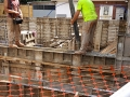 Pouring the walls